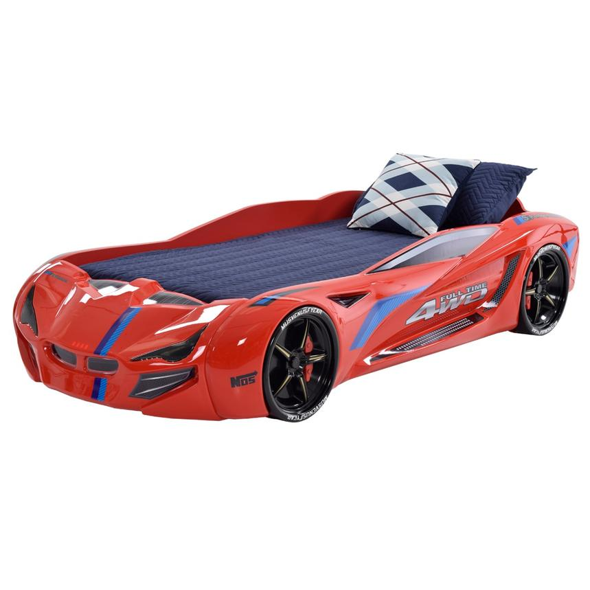 Fun Car Bed w/Mattress  main image, 1 of 6 images.