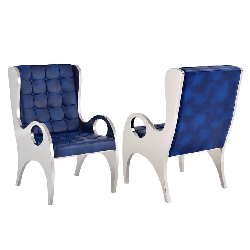 Boss Blue Accent Chair
