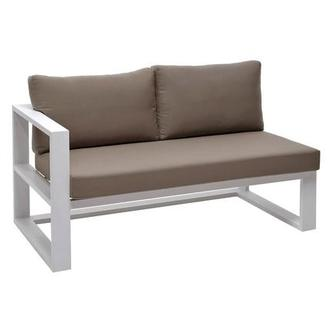 Mykonos Cream Left Sofa