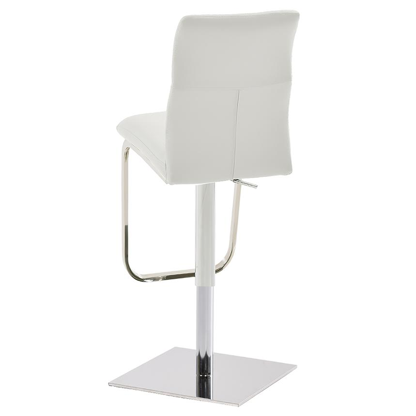 Colette White Adjustable Stool  alternate image, 2 of 6 images.