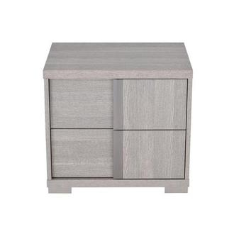 Tivo Gray Right Nightstand Made in Italy