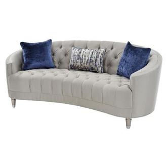 Kimberly Silver Sofa