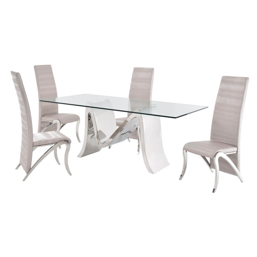 Maverick 5-Piece Formal Dining Set  main image, 1 of 12 images.