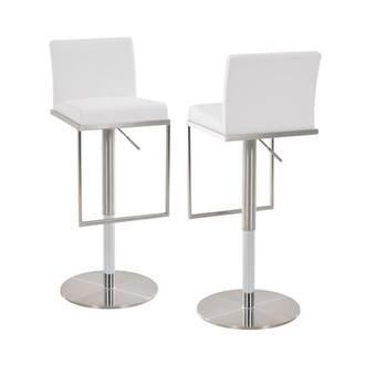 Brisa Gray Adjustable Stool El Dorado Furniture