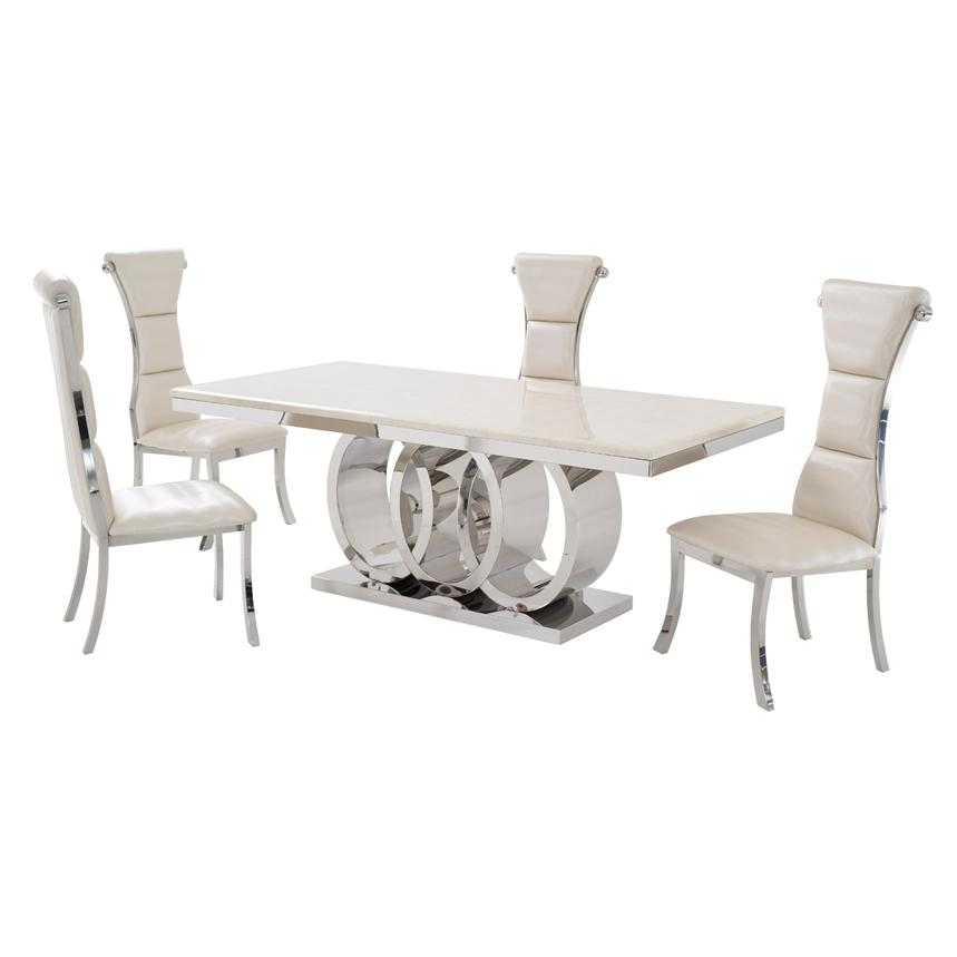 Lillian 5-Piece Formal Dining Set  main image, 1 of 11 images.