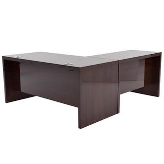 Pisa L-Shaped Desk Made in Italy