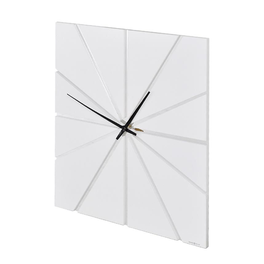 Gale White Wall Clock  main image, 1 of 3 images.