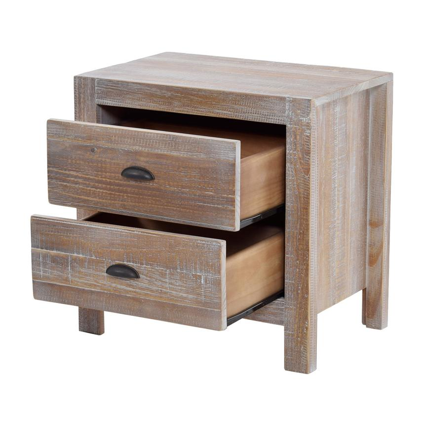 Montauk Natural Nightstand Made in Brazil  alternate image, 2 of 6 images.