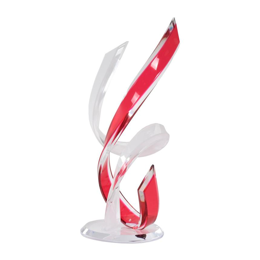 Tango White & Red Sculpture
