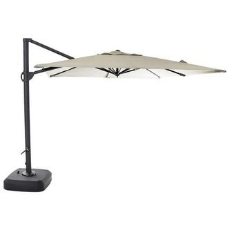 Roma Gray Square Umbrella
