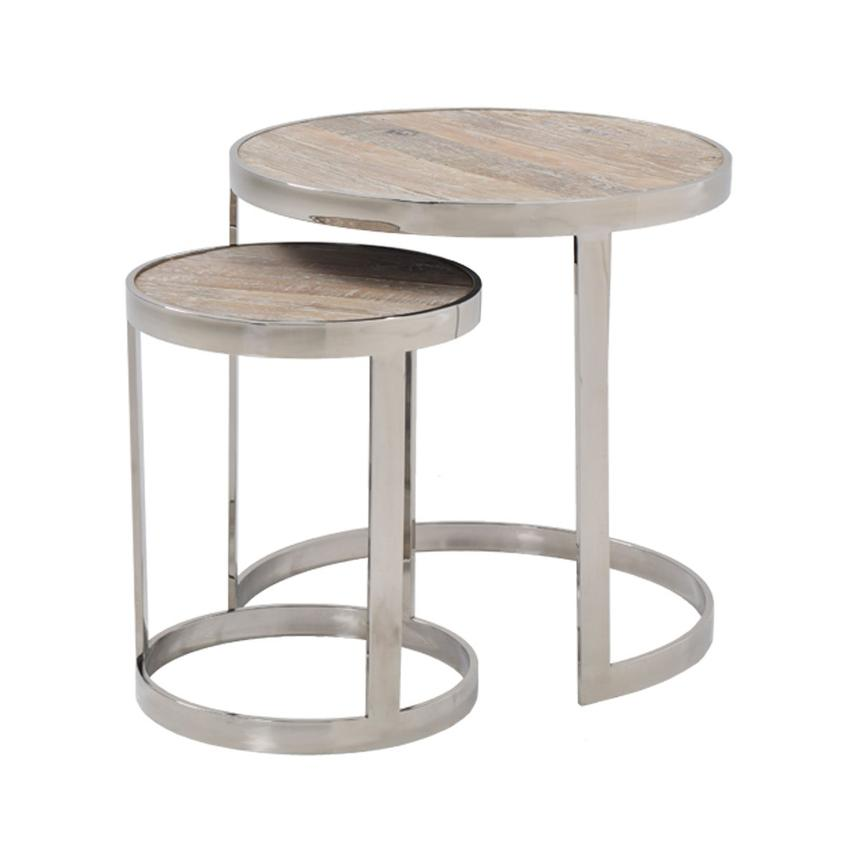 Briar Nesting Tables Set of 2  main image, 1 of 6 images.