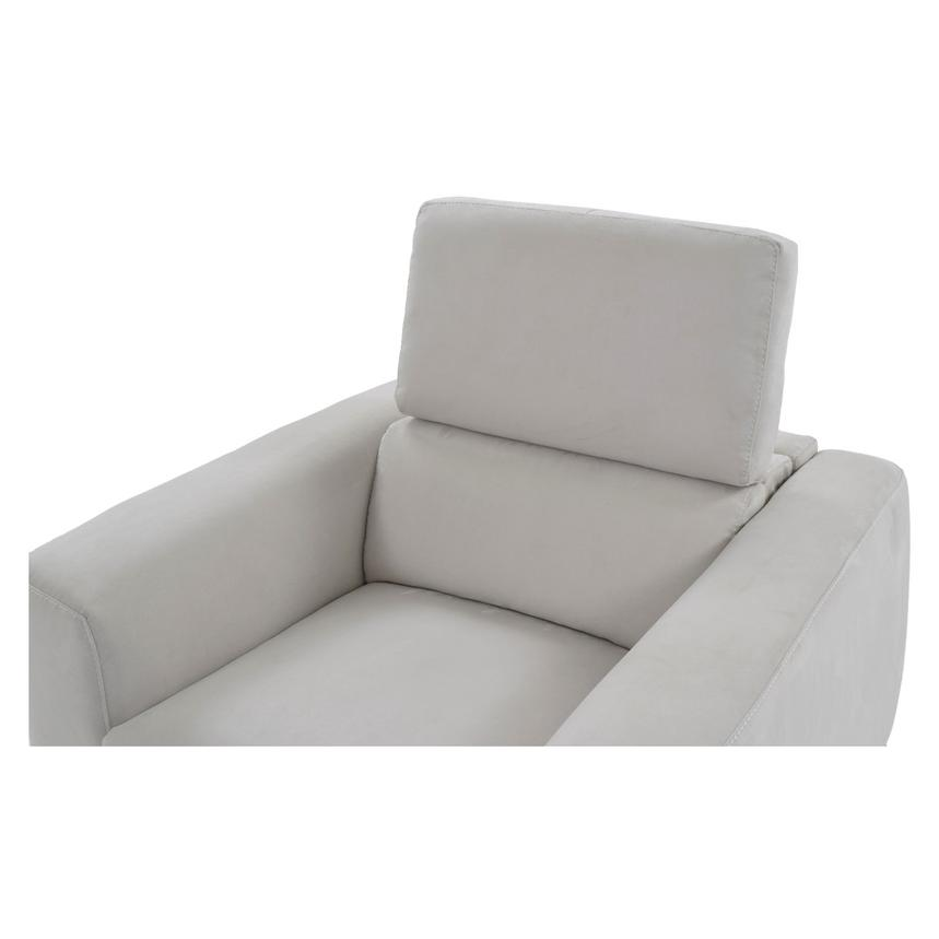 Piera White Power Motion Recliner  alternate image, 6 of 12 images.
