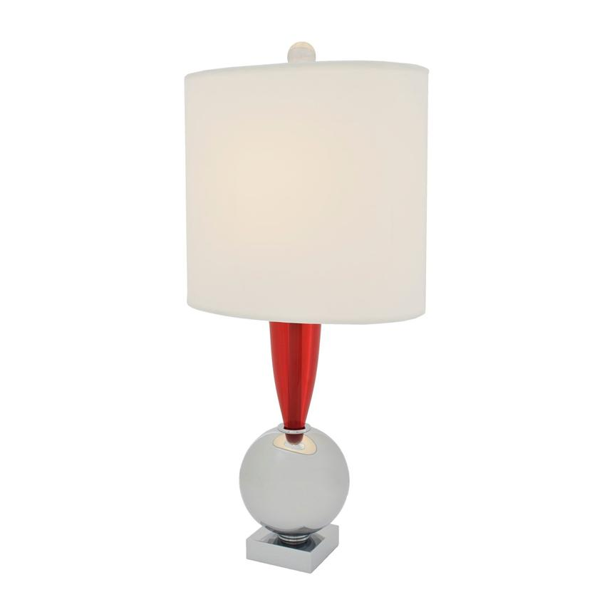 Every Minute Red Table Lamp