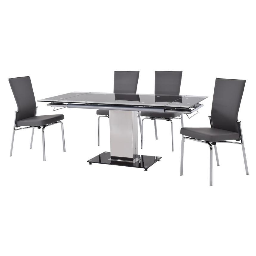 antonia gray 5 piece casual dining set el dorado furniture. Black Bedroom Furniture Sets. Home Design Ideas