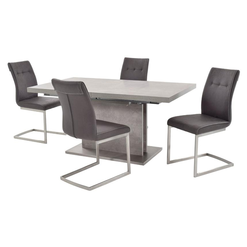 Kalinda 5-Piece Formal Dining Set  main image, 1 of 14 images.