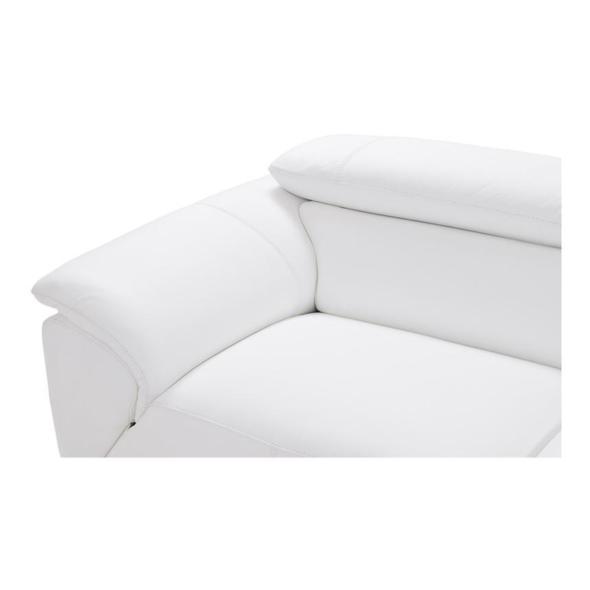 Fabulous Tesla White Oversized Leather Sofa Inzonedesignstudio Interior Chair Design Inzonedesignstudiocom