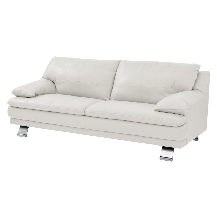 Rio White Leather Sofa Made In Brazil