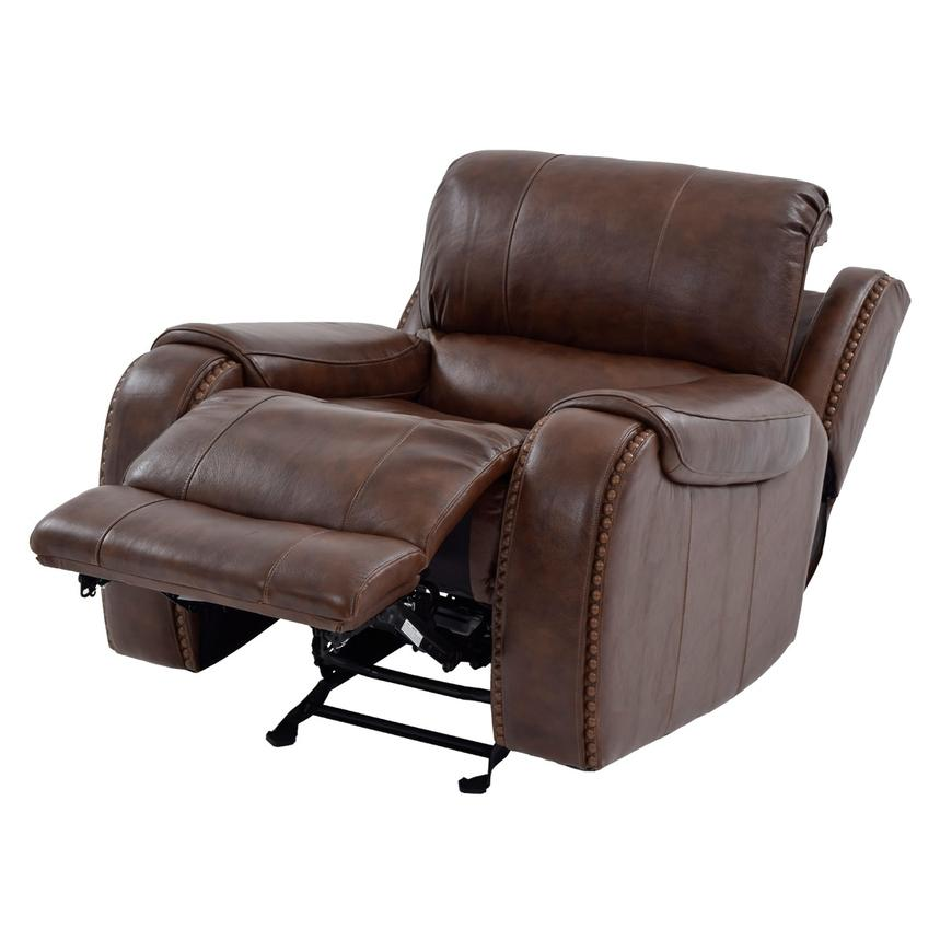 Durham Power Motion Leather Recliner  alternate image, 2 of 9 images.