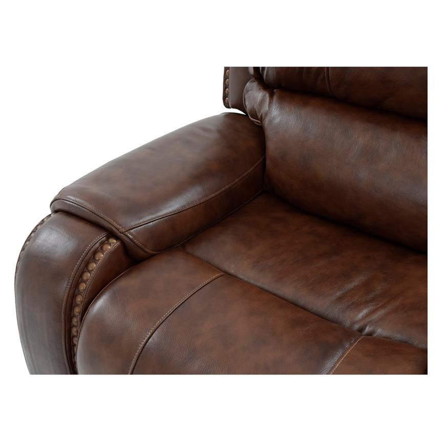 Durham Power Motion Leather Recliner  alternate image, 7 of 9 images.