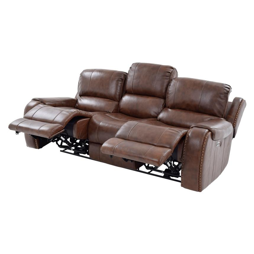 Durham Leather Power Reclining Sofa  alternate image, 2 of 10 images.