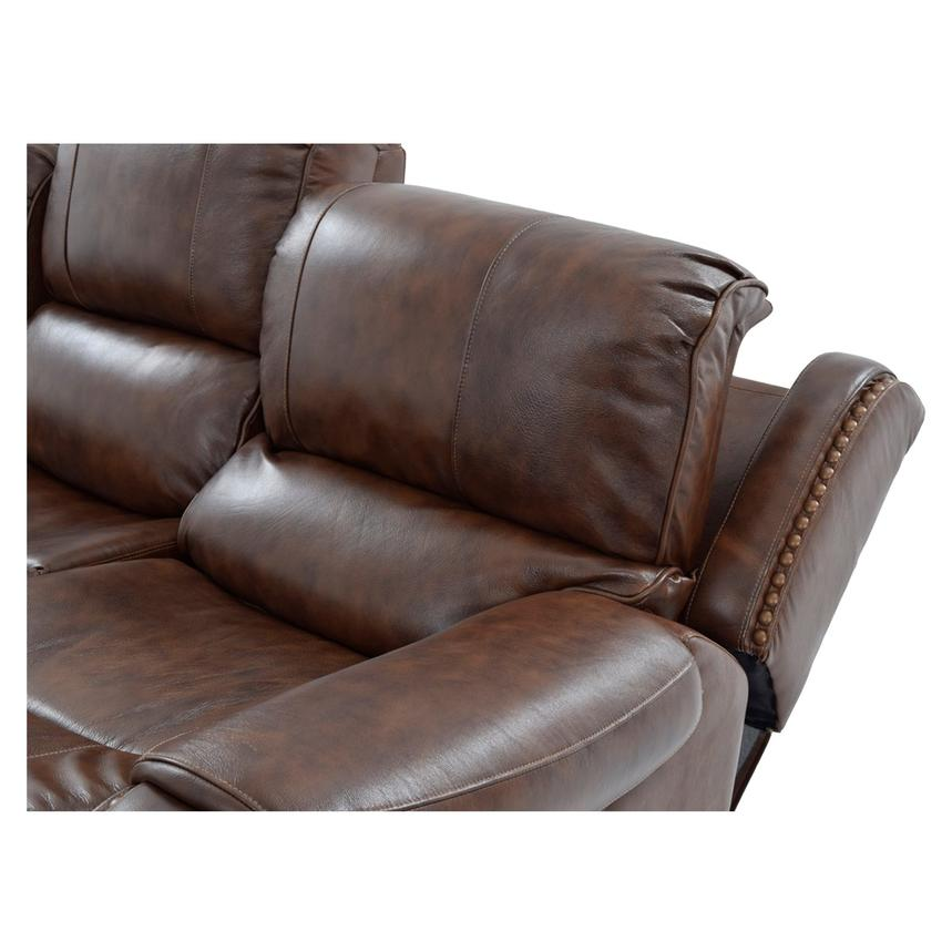 Durham Leather Power Reclining Sofa  alternate image, 6 of 9 images.