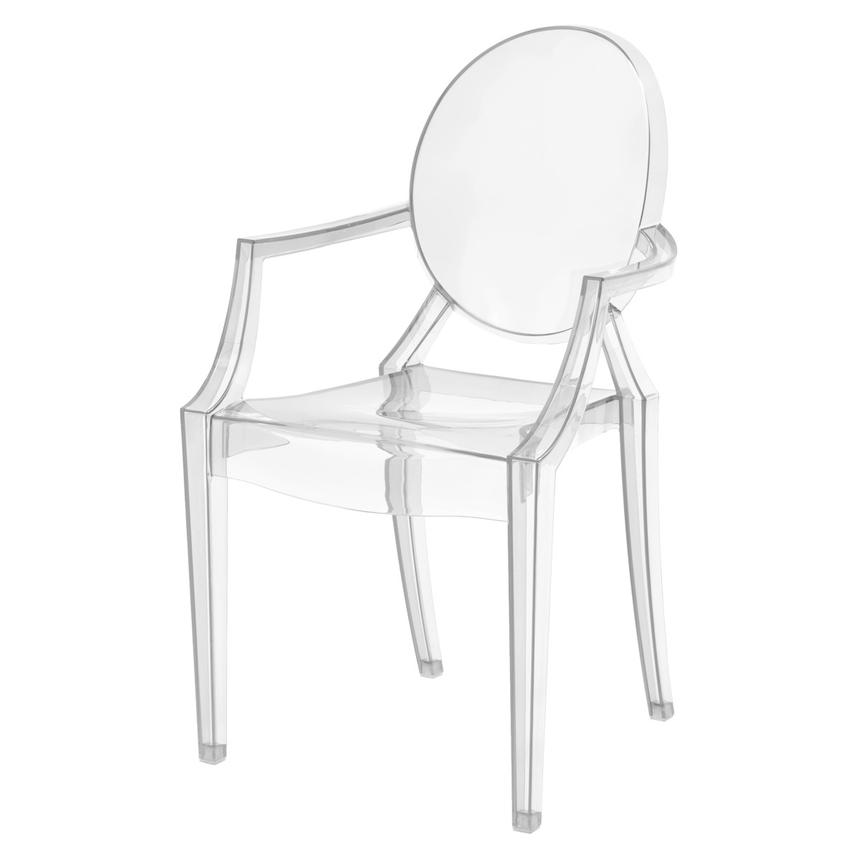 Isabella Clear Arm Chair  alternate image, 2 of 4 images.