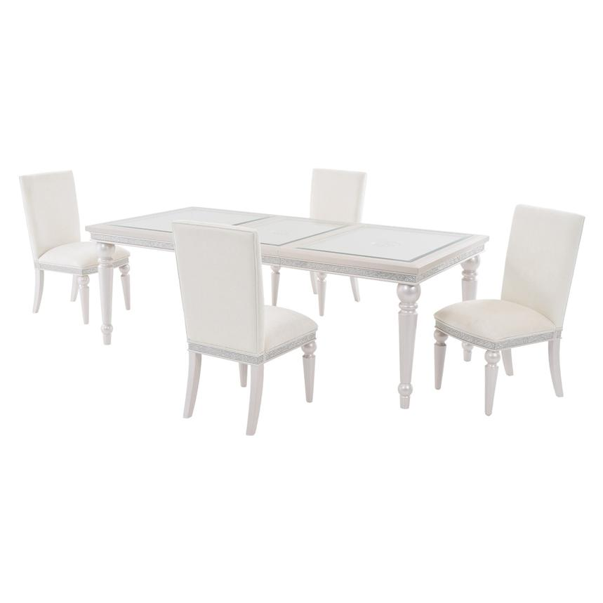 Glimmering Heights 5-Piece Formal Dining Set  main image, 1 of 12 images.