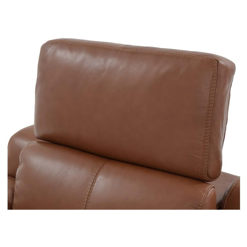 Gian Marco Tan Power Motion Leather Recliner  alternate image, 6 of 8 images.