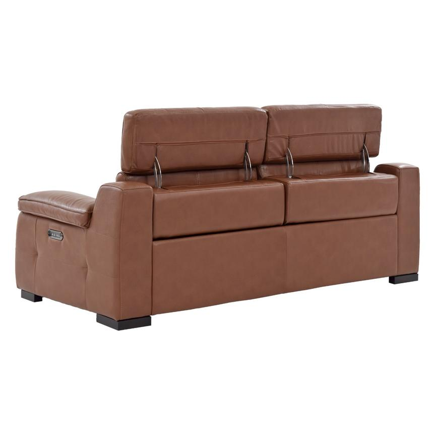Gian Marco Tan Leather Power Reclining Sofa  alternate image, 5 of 10 images.