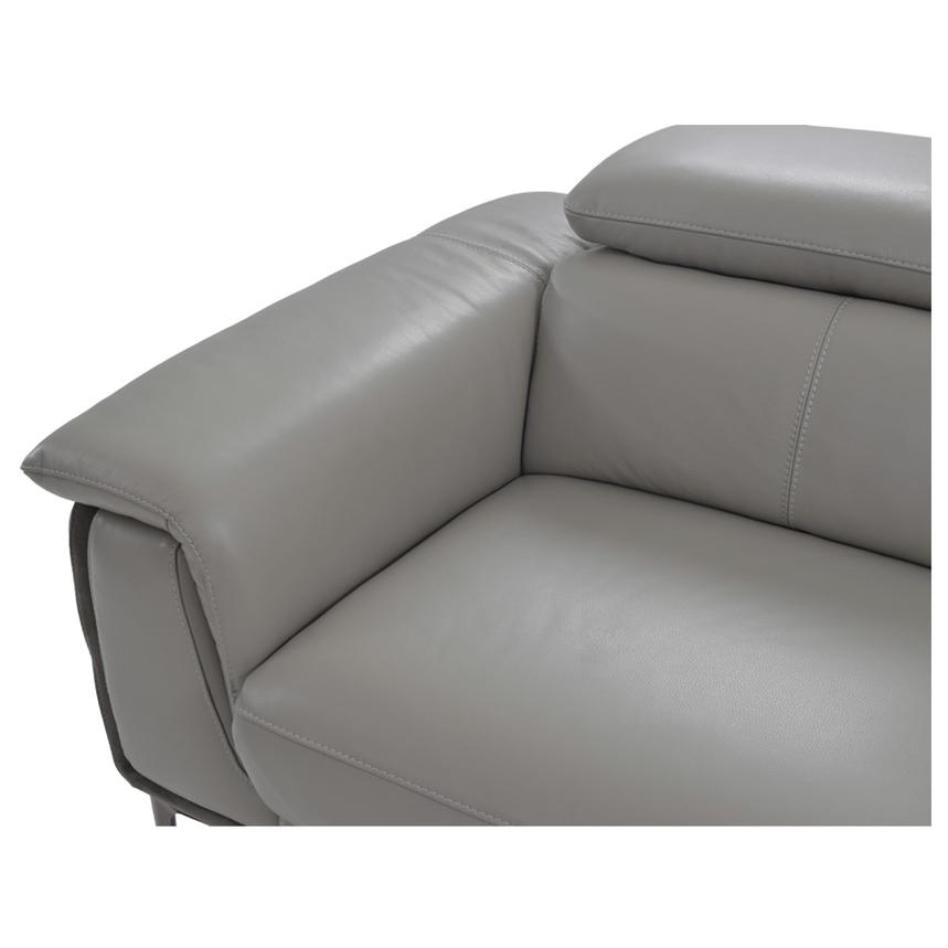 Richardson Leather Power Reclining Sofa w/Right Chaise  alternate image, 6 of 10 images.