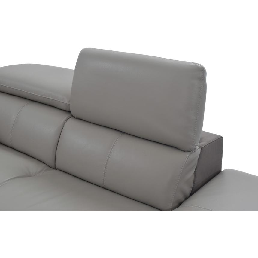 Richardson Leather Power Reclining Sofa w/Right Chaise  alternate image, 7 of 12 images.