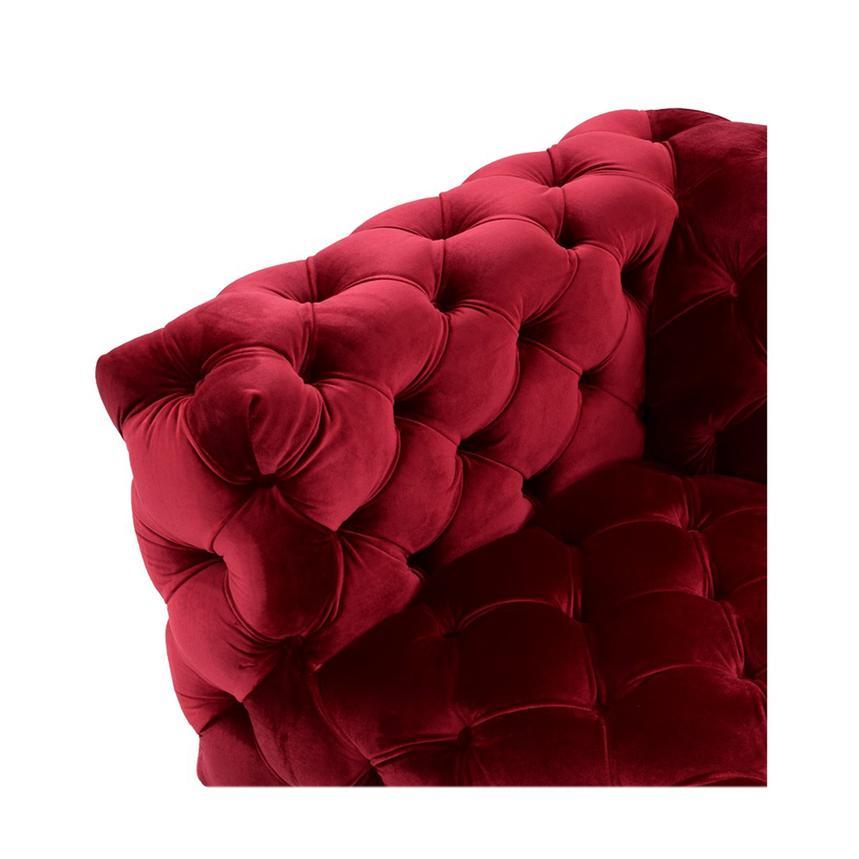 Crandon Red Sofa