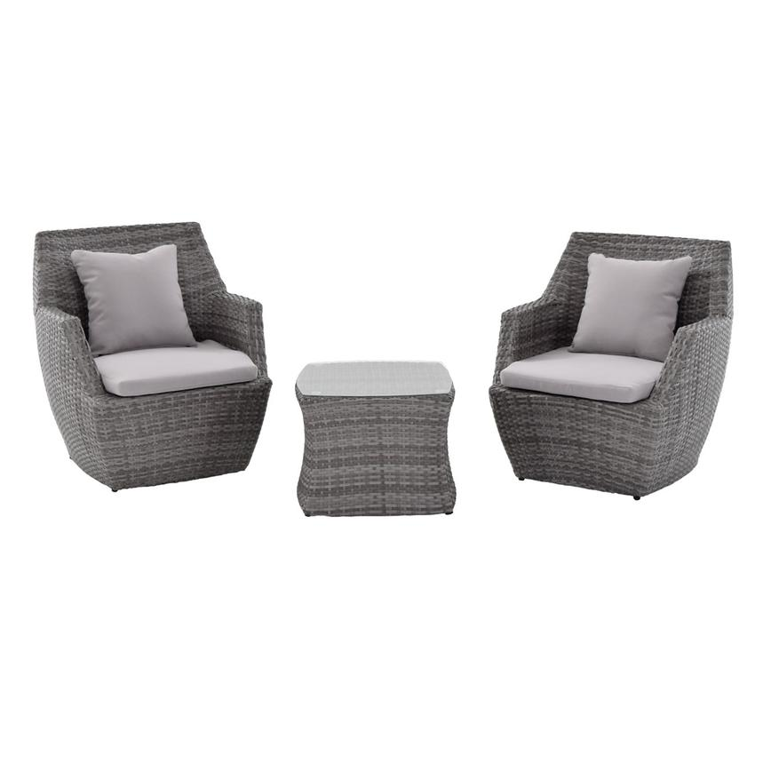 Neilina Gray 3-Piece Patio Set  main image, 1 of 11 images.