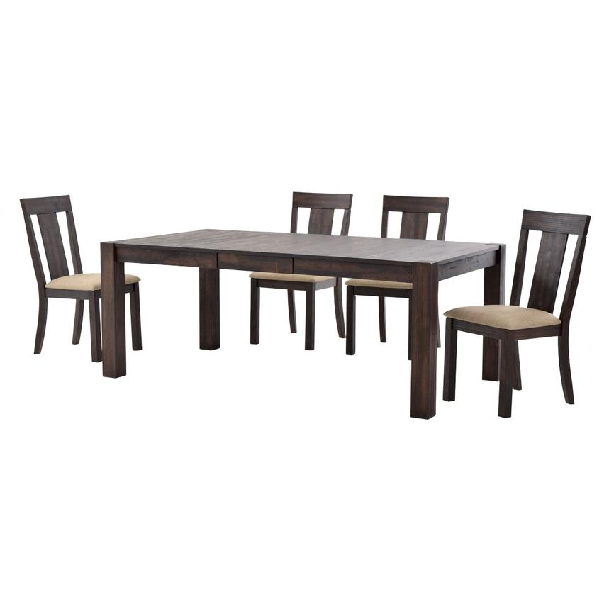 Chaney 5-Piece Formal Dining Set  alternate image, 2 of 12 images.