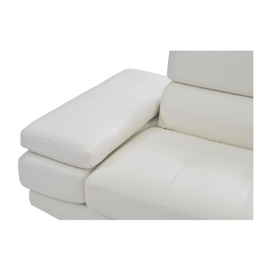 Tahoe II Off White Sofa w/Right Chaise  alternate image, 7 of 9 images.