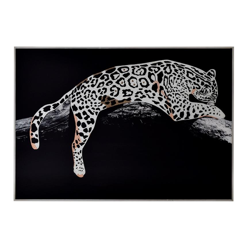 Leopard II Acrylic Wall Art  main image, 1 of 4 images.
