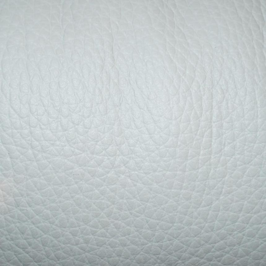 Enzo Pure White Leather Swivel Chair  alternate image, 12 of 12 images.