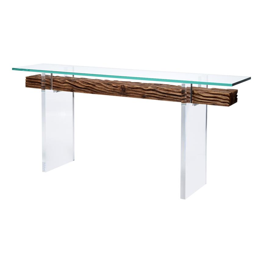Miami Beach Natural Console Table  main image, 1 of 6 images.
