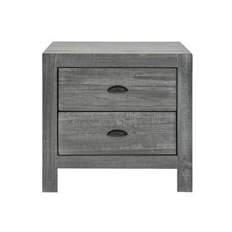 Montauk Gray Nightstand