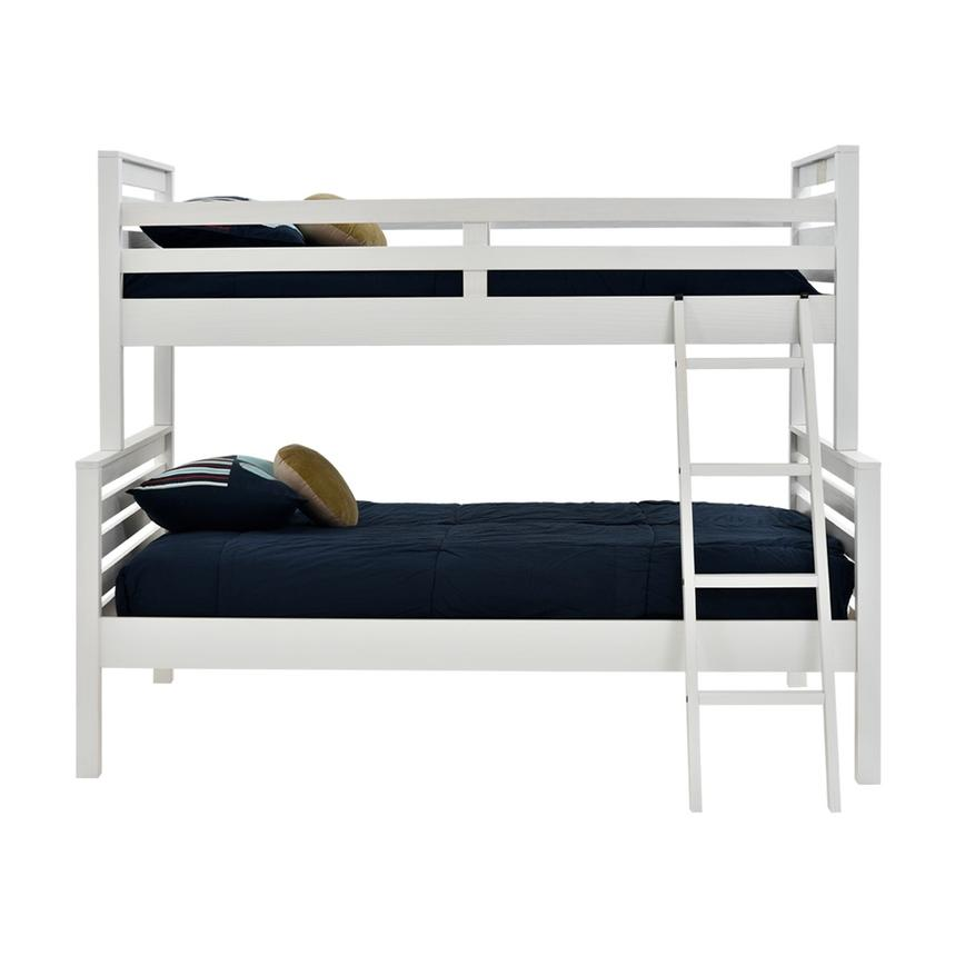 Montauk White Twin Over Full Bunk Bed Made in Brazil  alternate image, 2 of 7 images.