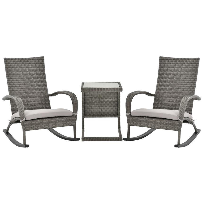Surprising Neilina Gray 3 Piece Patio Set Machost Co Dining Chair Design Ideas Machostcouk