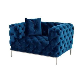 Crandon Blue Chair & Half