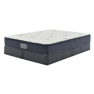 Pacific Heights King Mattress w/Regular Foundation by Simmons Beautyrest Silver