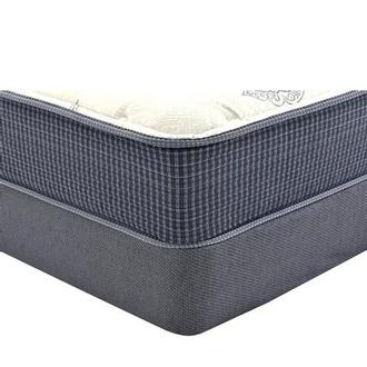 Ocean Springs King Mattress w/Low Foundation by Simmons Beautyrest Silver