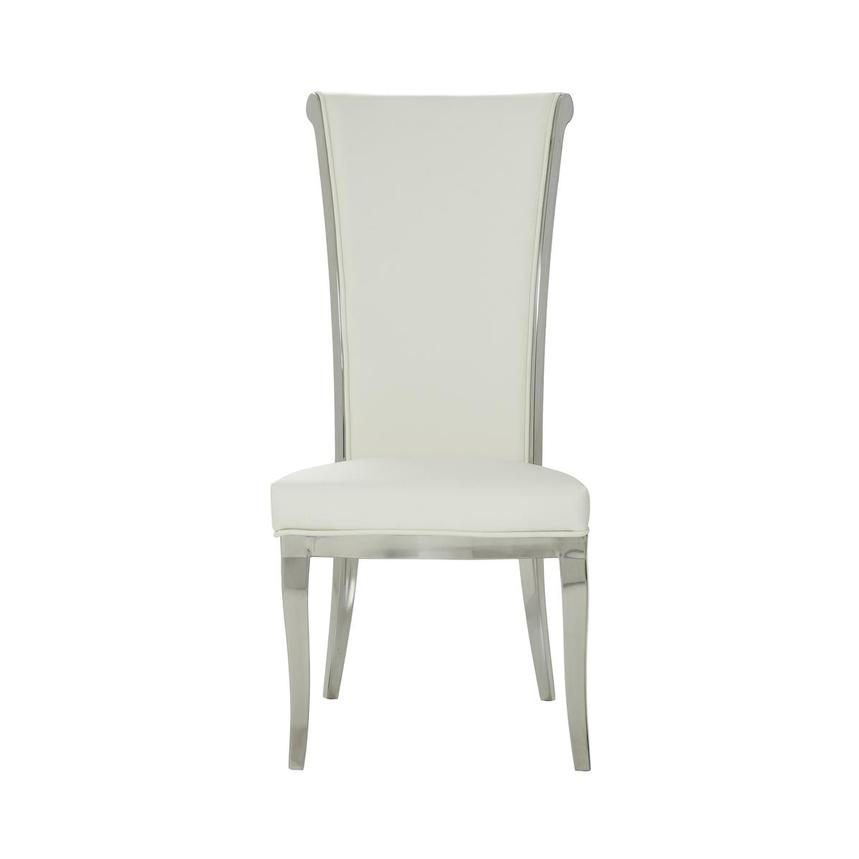 Joy White Side Chair  main image, 1 of 6 images.