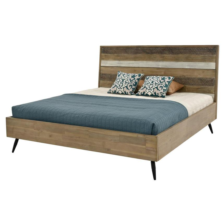 Key West King Platform Bed  main image, 1 of 5 images.