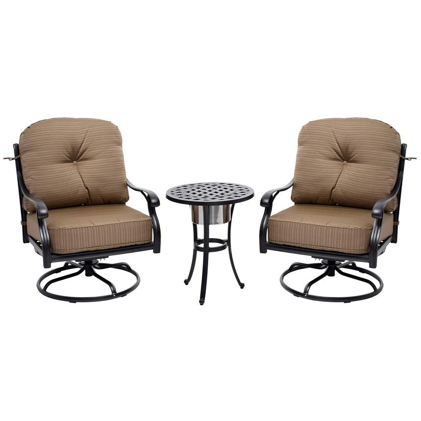 Castle Rock Brown 3-Piece Patio Set  main image, 1 of 11 images.