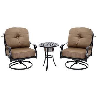 Almalfi Gray 4 Piece Patio Set El Dorado Furniture