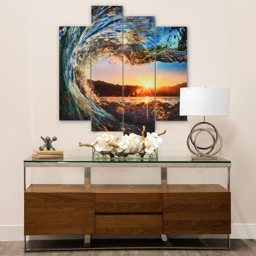 Onda Acrylic Wall Art | El Dorado Furniture