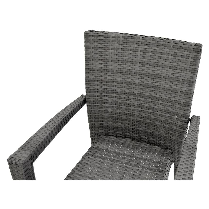 Gerald/Neilina Gray 3-Piece Patio Set w/10mm Glass Top  alternate image, 7 of 9 images.